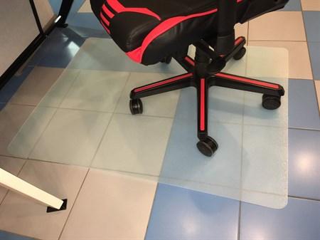 Коврик под кресло для паркета/ламината полипропилен 120х90см