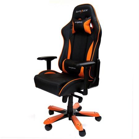 Компьютерное кресло DXRacer OH/KS57/NO Оранжевый - фото 8912