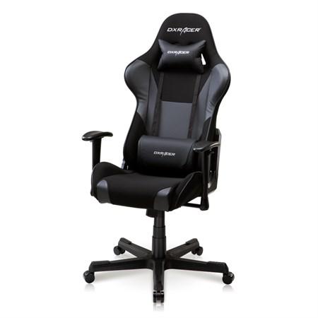 Компьютерное кресло DXRacer OH/FD101/N Черный, текстиль + экокожа