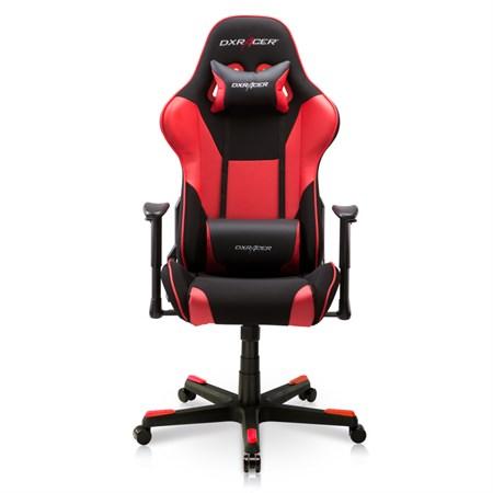 Компьютерное кресло DXRacer OH/FD101/NR Черный, красный, текстиль + экокожа