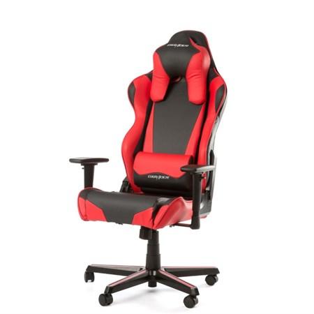 Компьютерное кресло DXRacer OH/RN1/NR Красный с подсветкой - фото 9476