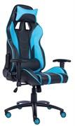 Игровое кресло Lotus S16 PU Голубой