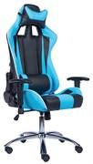 Игровое кресло Lotus S5 PU Голубой