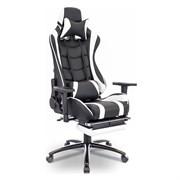 Игровое кресло Lotus S1 Черный, белый
