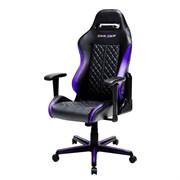 Компьютерное кресло DXRacer OH/DH73/NV Черный, фиолетовый