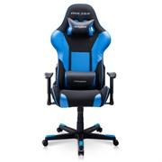 Компьютерное кресло DXRacer OH/FD101/NB Черный, синий, текстиль + экокожа