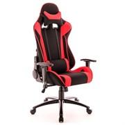 Игровое кресло Lotus S4 Ткань Красный/Черный