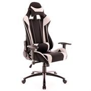 Игровое кресло Lotus S4 Ткань Серый/Черный