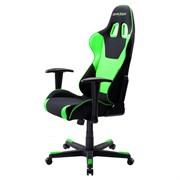 Компьютерное кресло DXRacer OH/FD101/NE Черный, зеленый, текстиль + экокожа